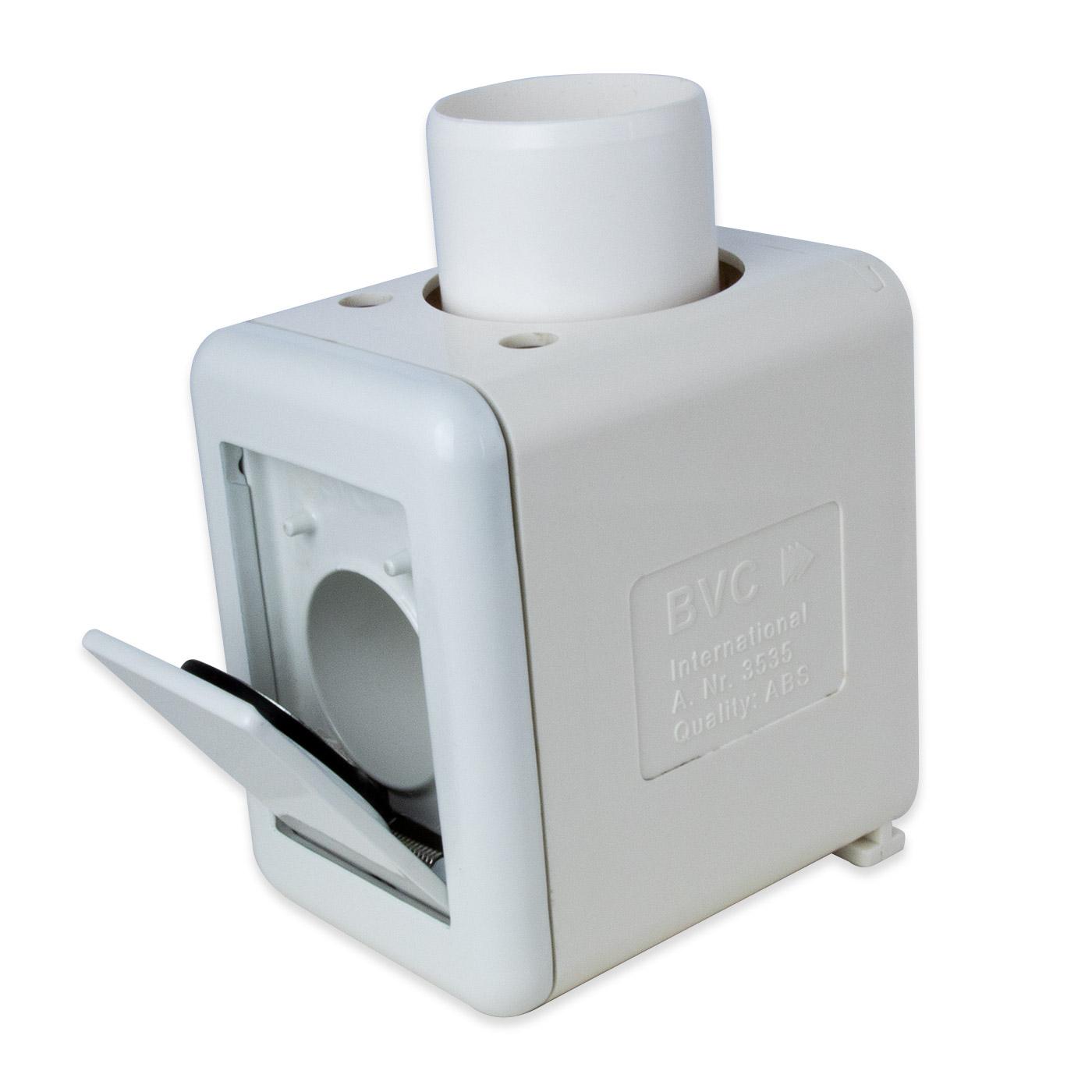 Zentralstaubsauger Standard 2 Zoll Rohrsystem DOPPEL ABZWEIGER 90 °